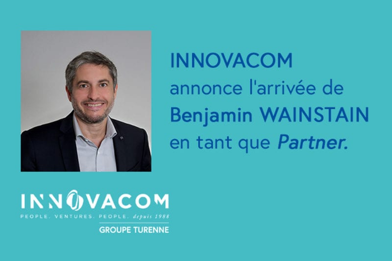 Benjamin Wainstain rejoint Innovacom