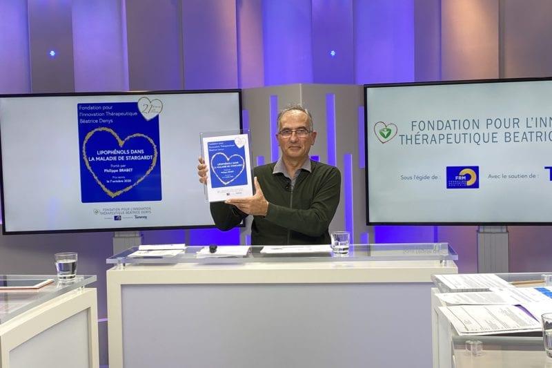 La Fondation pour l'Innovation Thérapeutique Béatrice Denys choisit le combat de la dégénérescence maculaire pour son Prix 2020