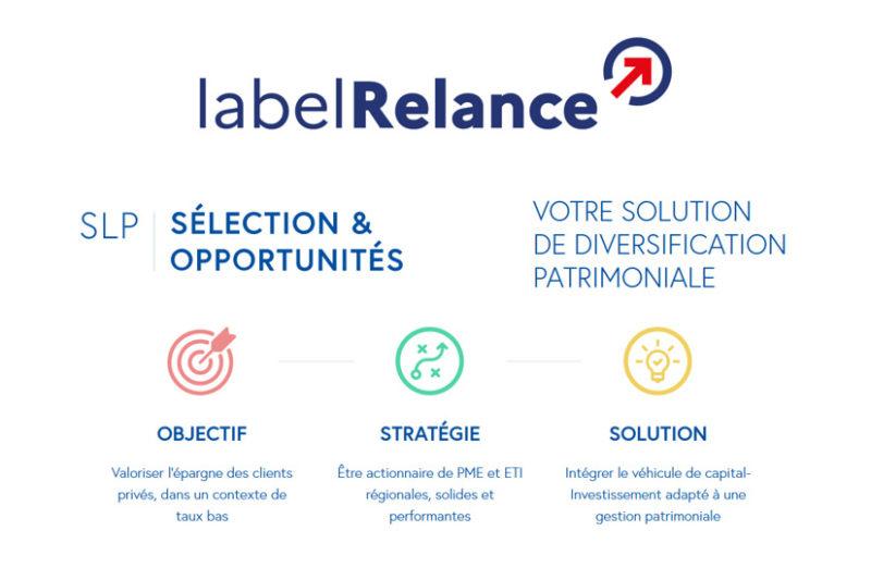 Turenne Groupe se voit décerner le label « Relance » pour la SLP Sélection & Opportunités, son véhicule de diversification patrimoniale à destination de la clientèle privée